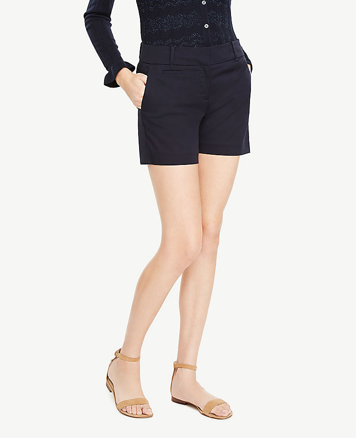 Petite Cotton Metro Shorts