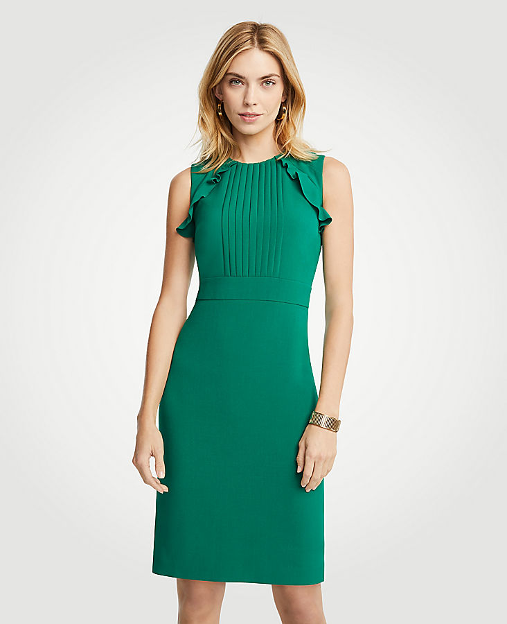 Green Sheath Dress
