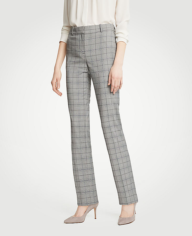 The Straight Leg Pant In Glen Plaid - Classic Fit | Tuggl