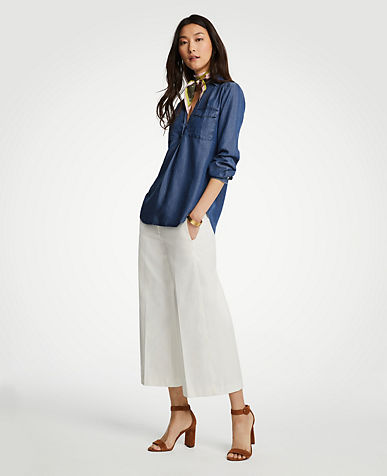 Petite Tops & Blouses for Women   ANN TAYLOR
