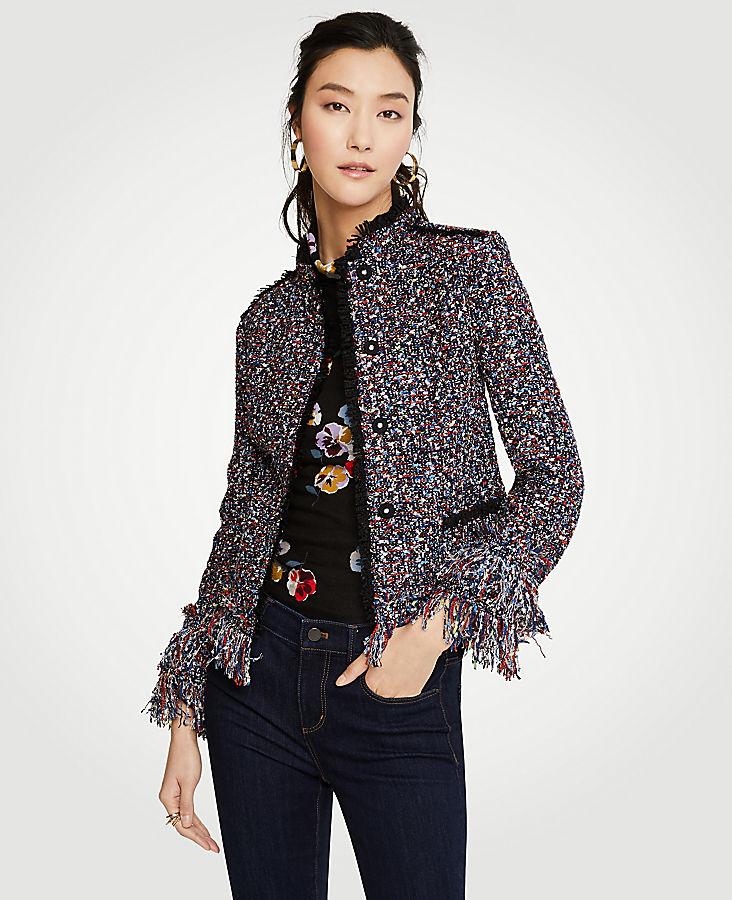Petite Fiesta Tweed Jacket