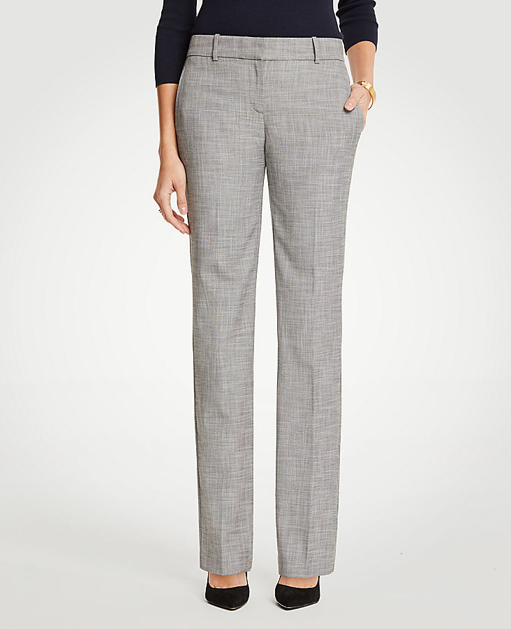 The Trouser In Crosshatch - Curvy Fit | Tuggl