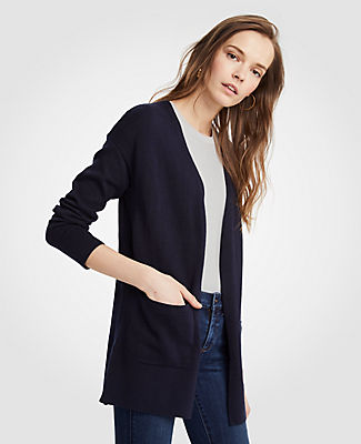 Ann Taylor Petite Pocket Open Cardigan 24714747