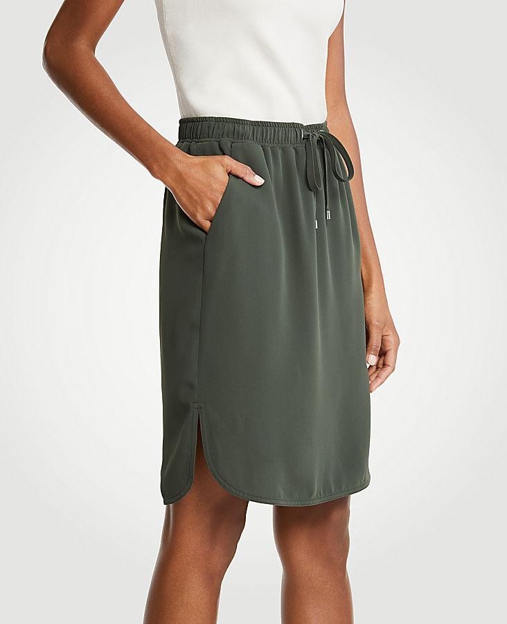 Drawstring Skirt   Tuggl