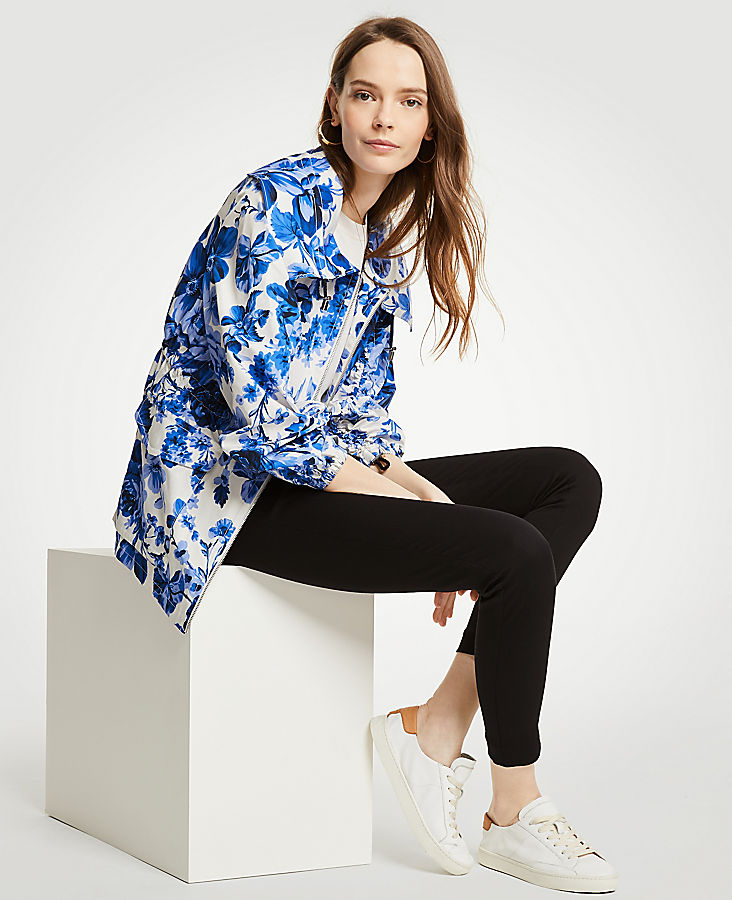 Floral Toile Anorak Jacket | Tuggl