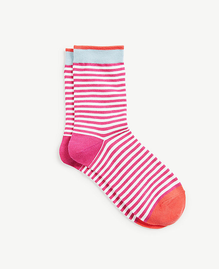 Colorblocked Stripe Trouser Socks | Tuggl