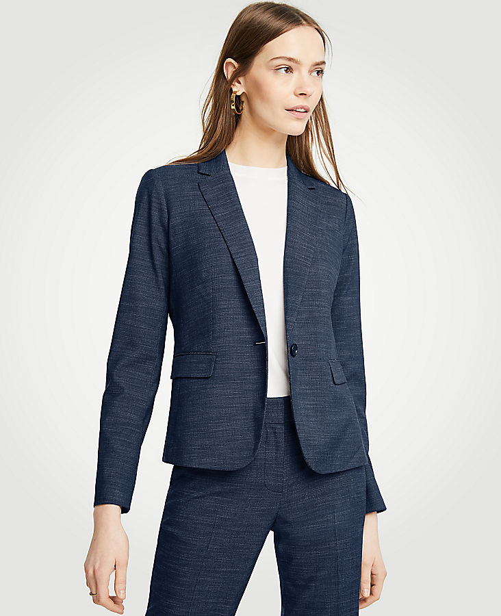 Tall Textured One Button Perfect Blazer | Tuggl