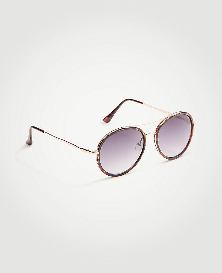 Round Aviator Sunglasses | Tuggl