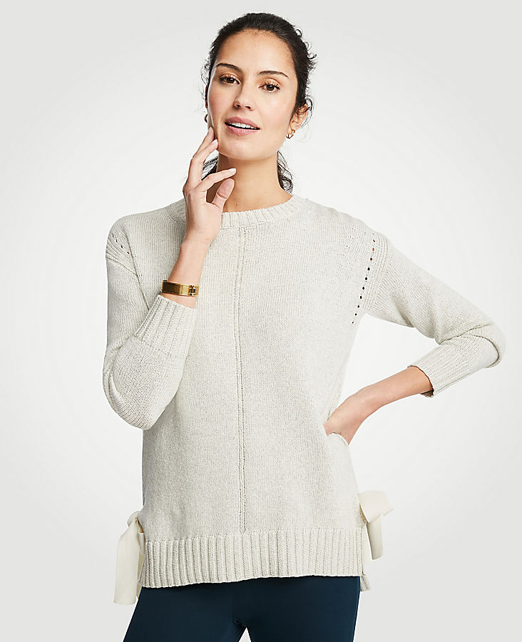 Side Tie Sweater | Tuggl