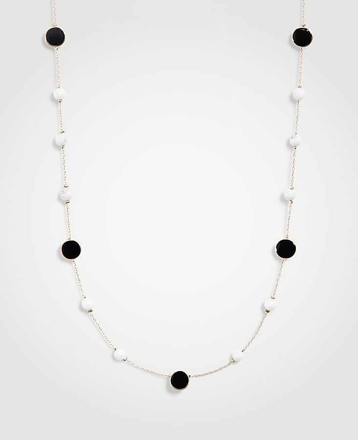 Sphere Station Necklace at Ann Taylor in Victor, NY | Tuggl