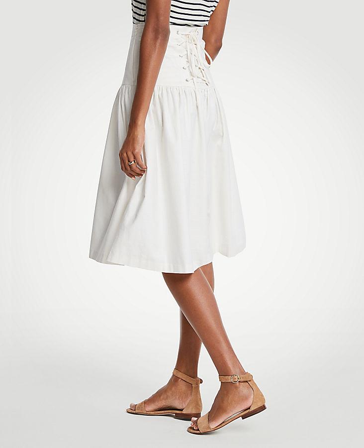 Petite Corset Full Skirt