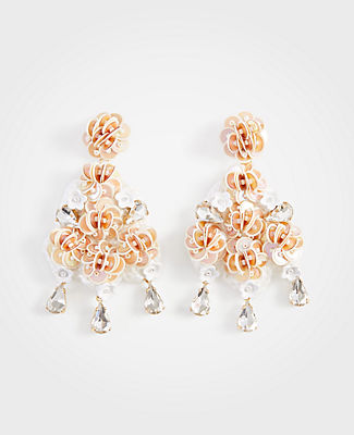 Ann Taylor Crochet Earrings