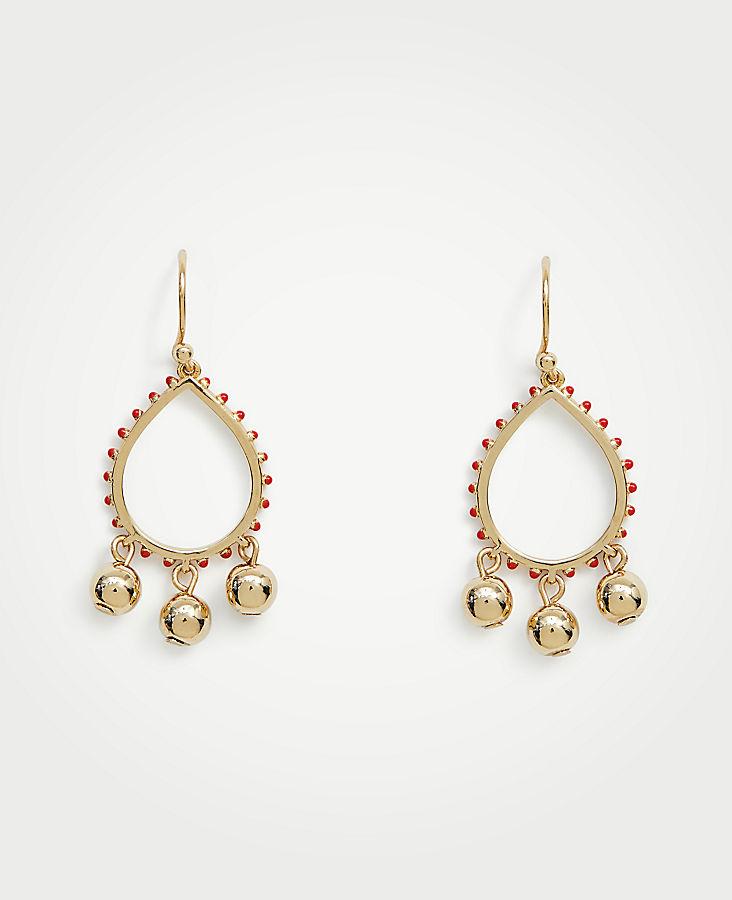 ANN TAYLOR Ball Drop Earrings 4JUsn