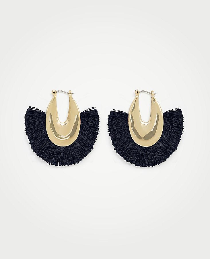 Fringe Statement Earrings | Tuggl