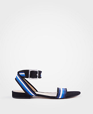 ARLENE RIBBON FLAT SANDALS