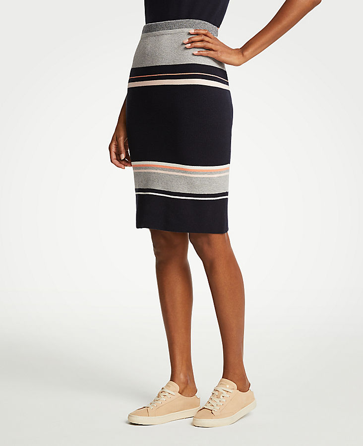 Colorblock Sweater Skirt | Tuggl