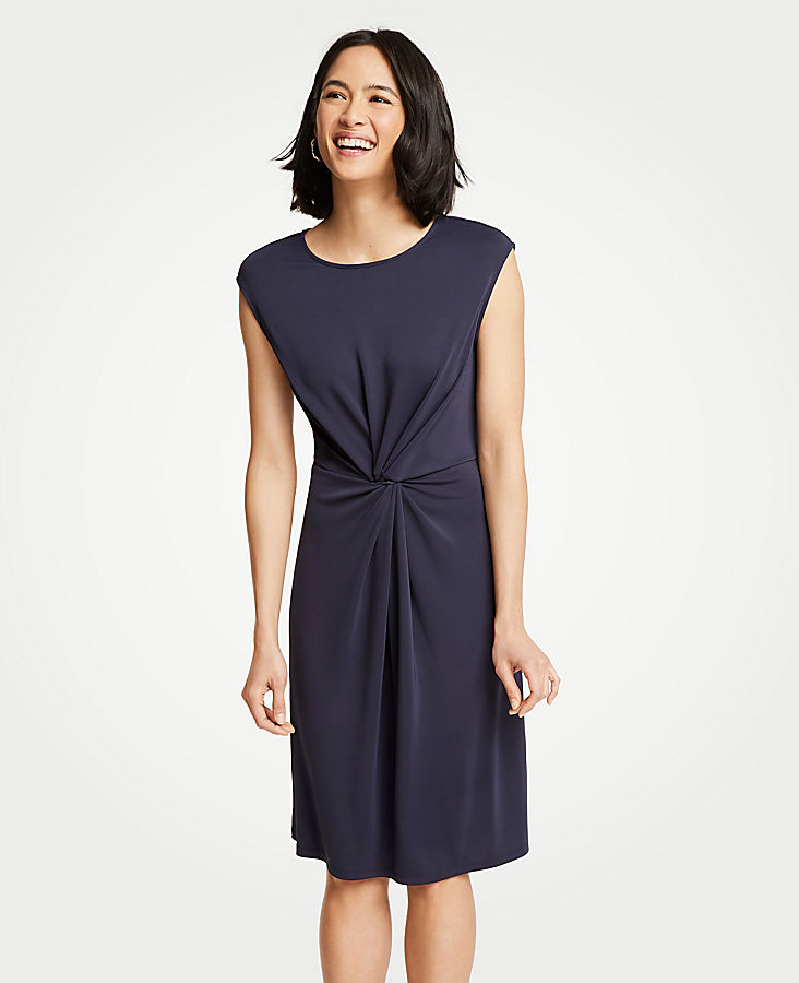 Twisted Front Knit Dress at Ann Taylor in Victor, NY | Tuggl