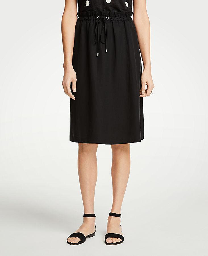 The Petite Drawstring Skirt