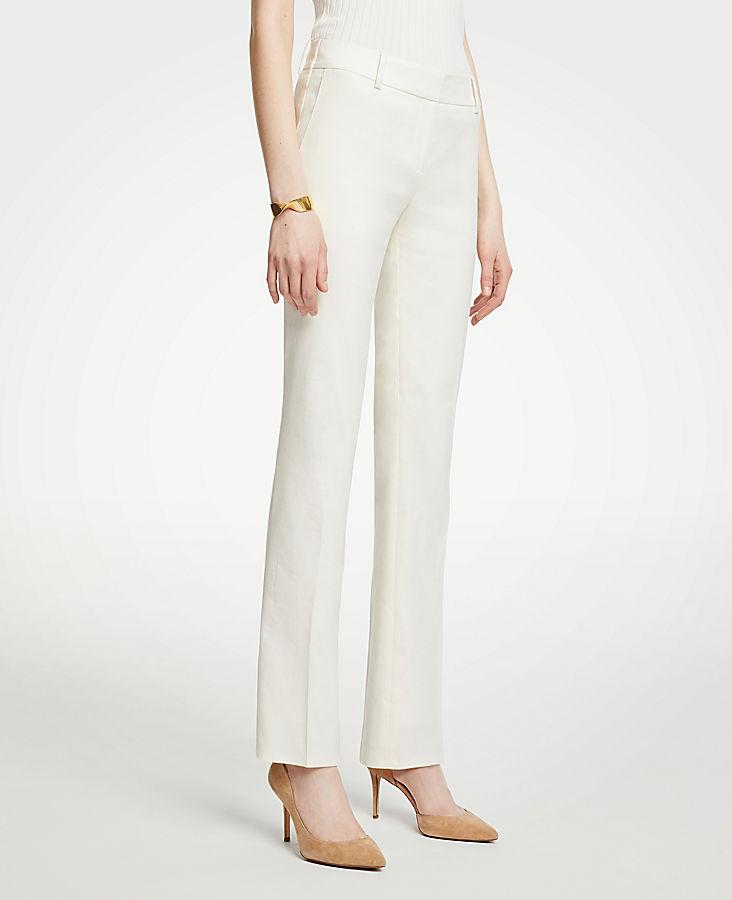 The Straight Leg Pant In Linen Blend   Tuggl