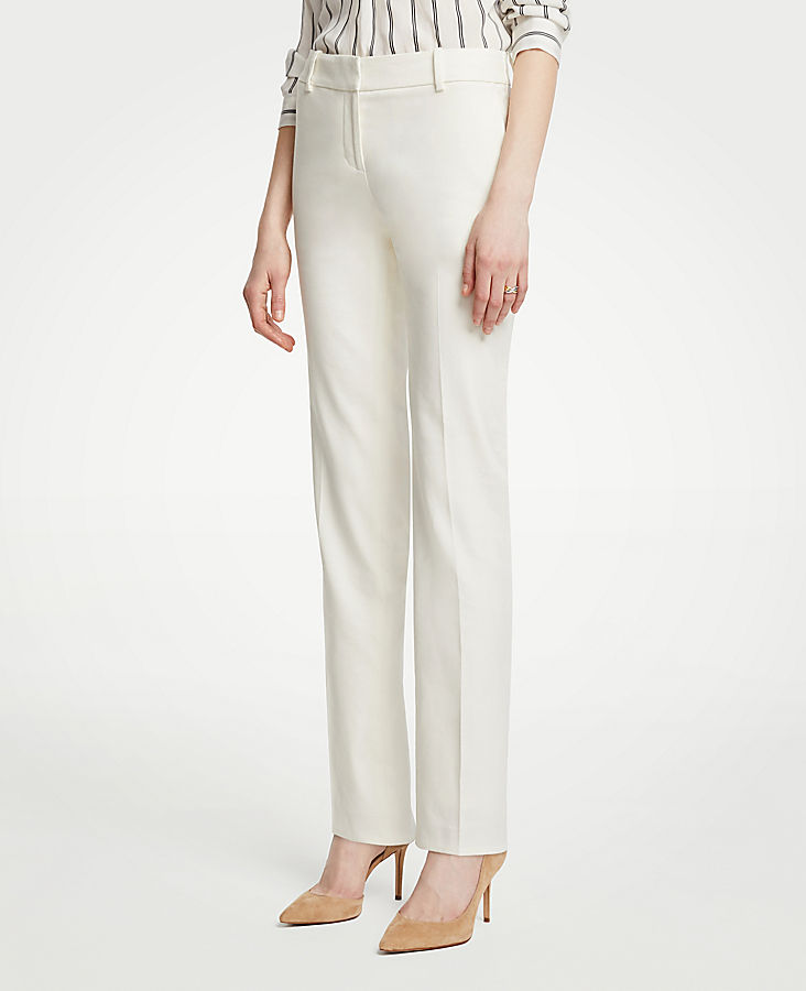 The Straight Leg Pant In Linen Blend - Curvy Fit | Tuggl