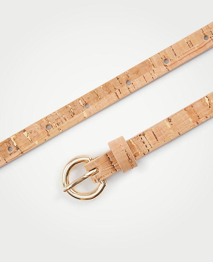 Skinny Cork Belt | Tuggl