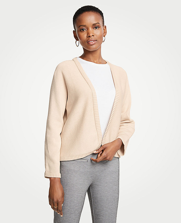 Cropped Open Cardigan | Tuggl