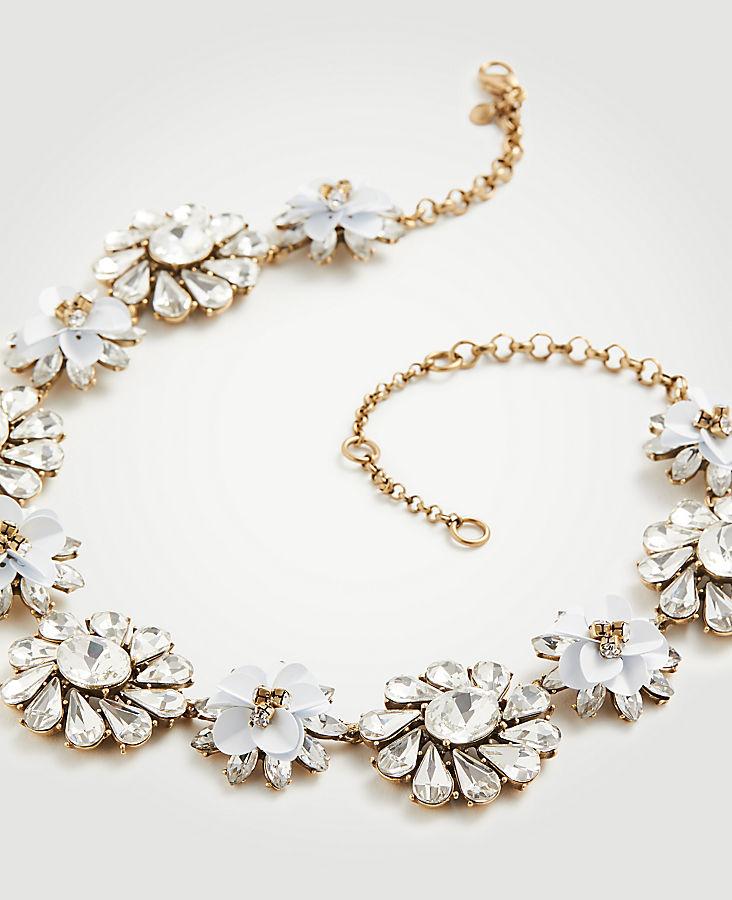 Sequin Floral Statement Bracelet ya0uvoE95a