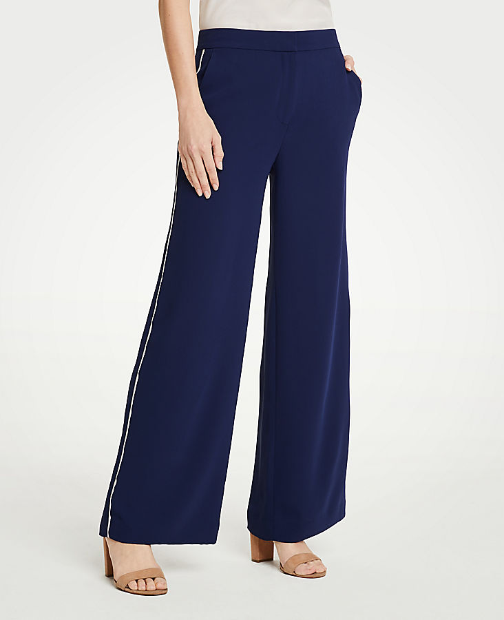 Petite Side Stripe Track Pants