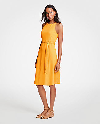 Ann Taylor Tall Halter Flare Dress 25560428