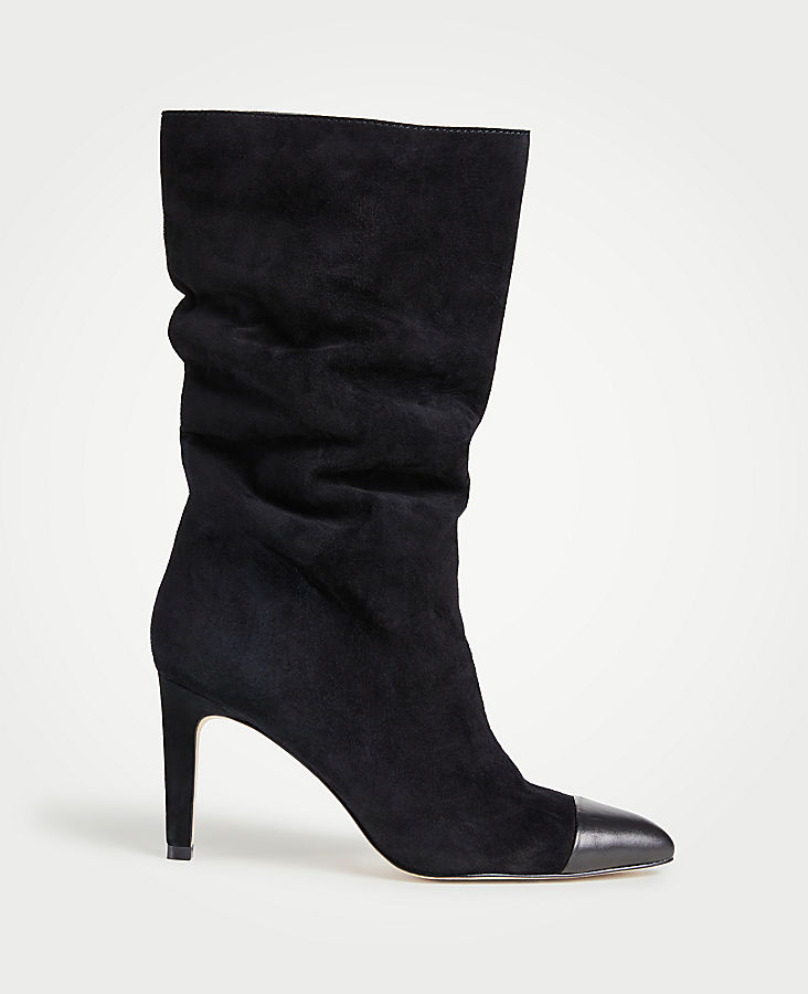 859b5f4cba25 Amira Suede Heeled Boots