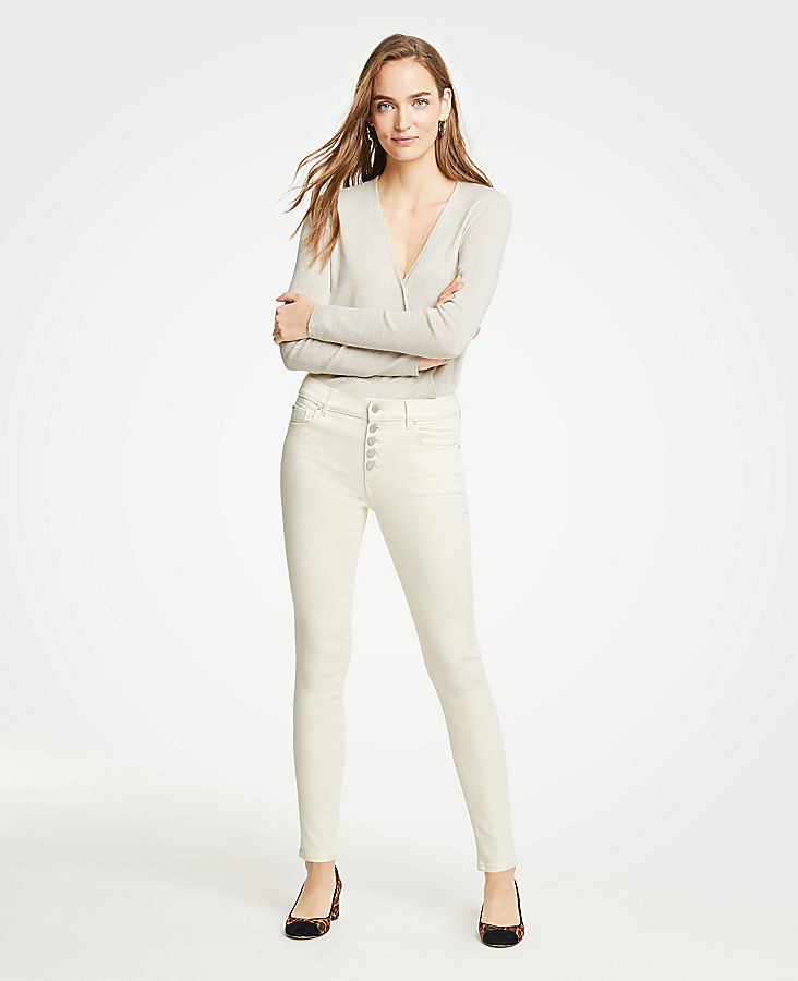 Modern Button Fly All Day Skinny Jeans | Tuggl