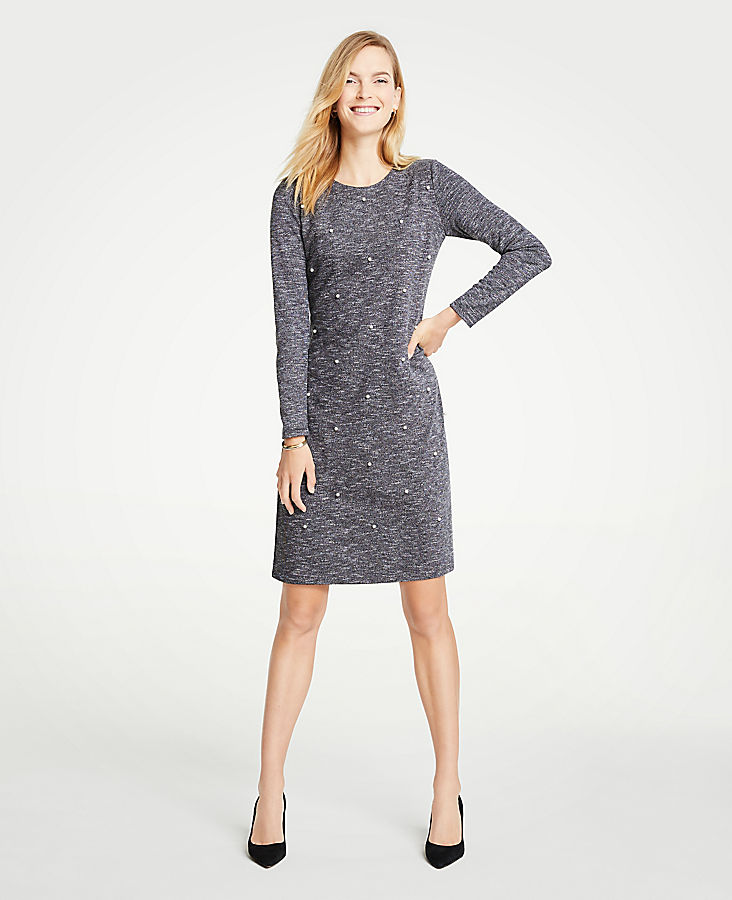 Tall Pearlized Shift Dress | Tuggl
