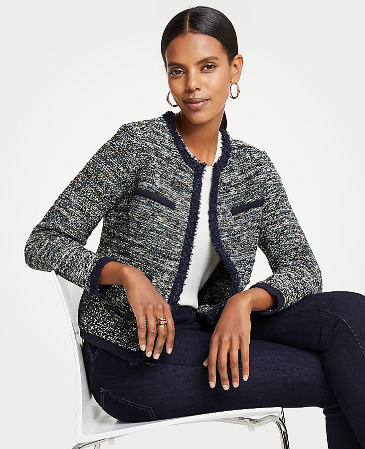 Petite Tweed Pocket Jacket