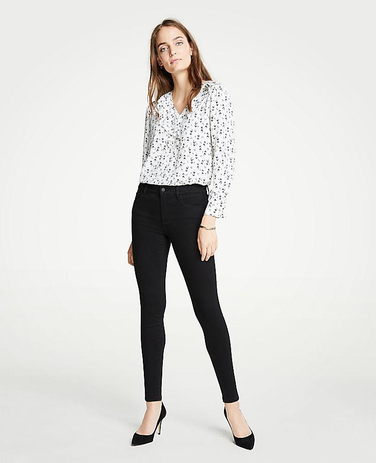Petite Modern All Day Skinny Jeans in Black | Tuggl