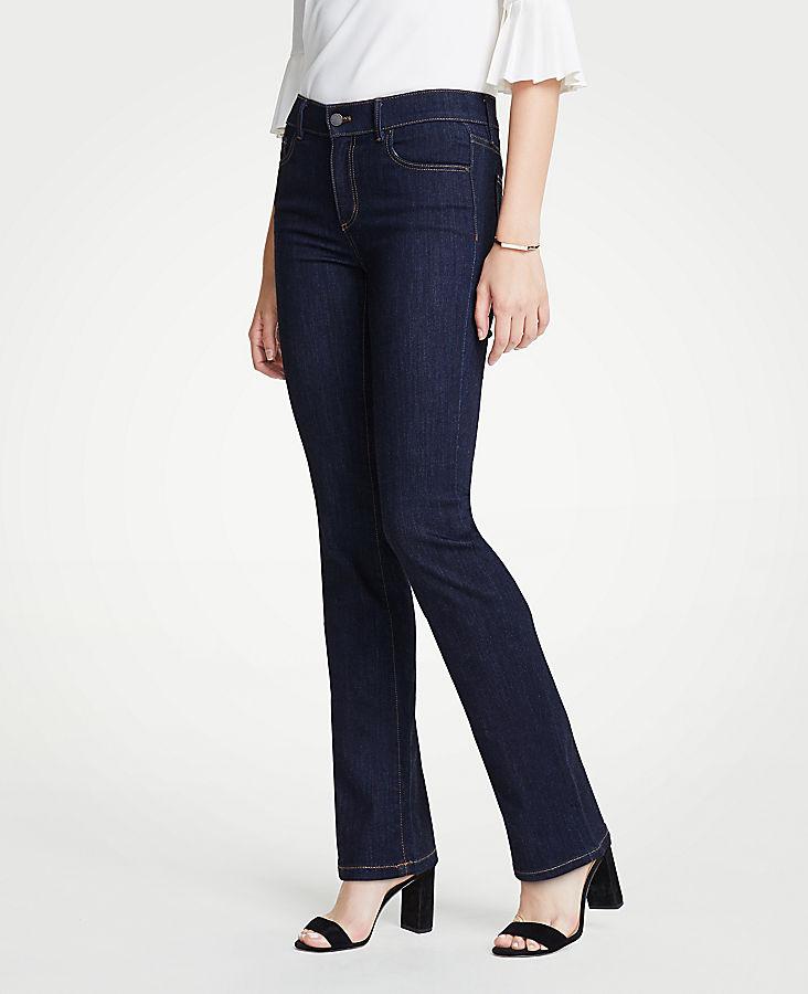 Petite Modern Denim Boot Cut Jeans