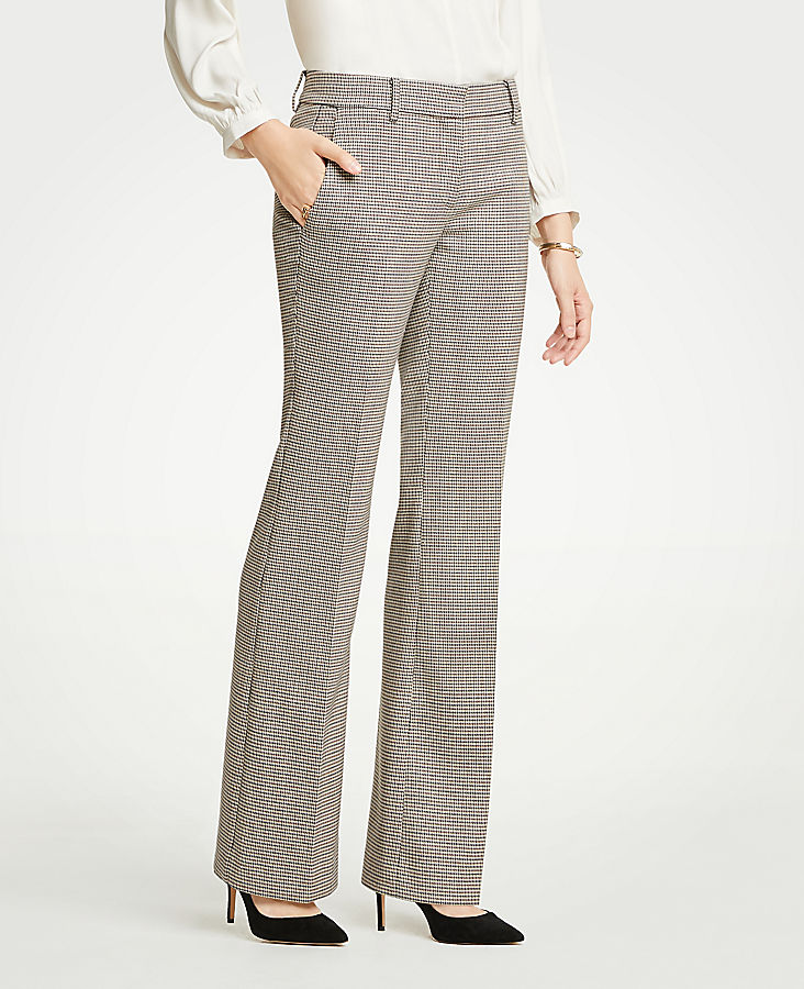 The Petite Madison Trouser In Check