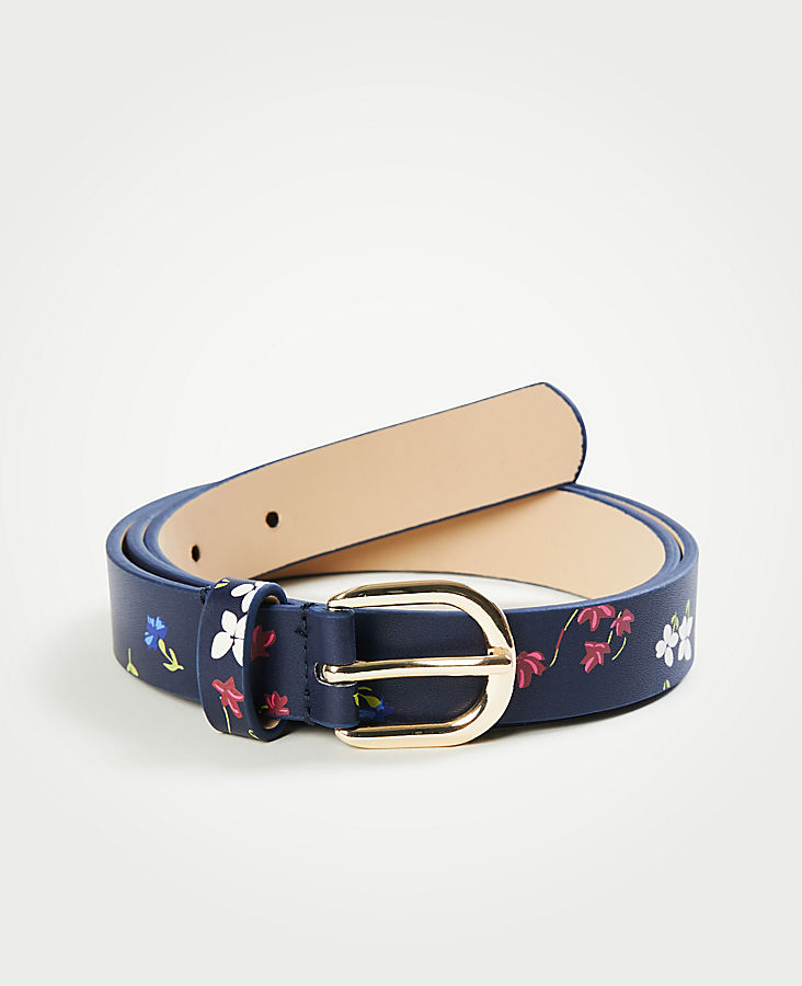 Savannah Floral Leather Belt | Tuggl