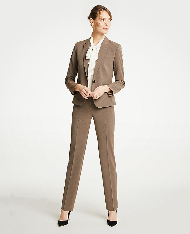 The Petite Straight Leg Pant In Seasonless Stretch