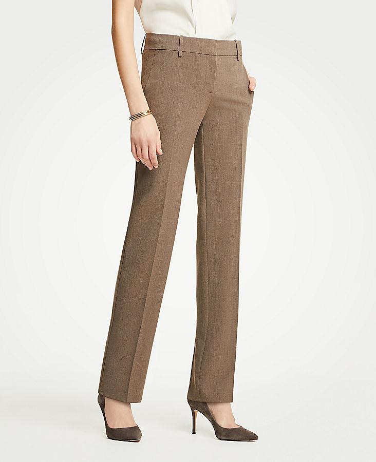 The Petite Straight Leg Pant In Seasonless Stretch - Curvy Fit