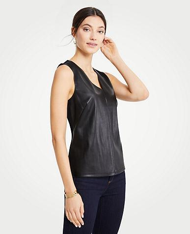 Sleeveless 3 4 Sleeve Petite Tops Blouses For Women Ann Taylor