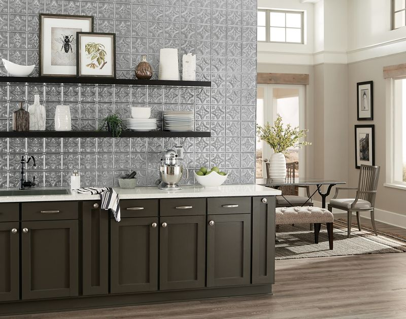 Metallaire Backsplashes 5400209bna Armstrong Ceilings Residential