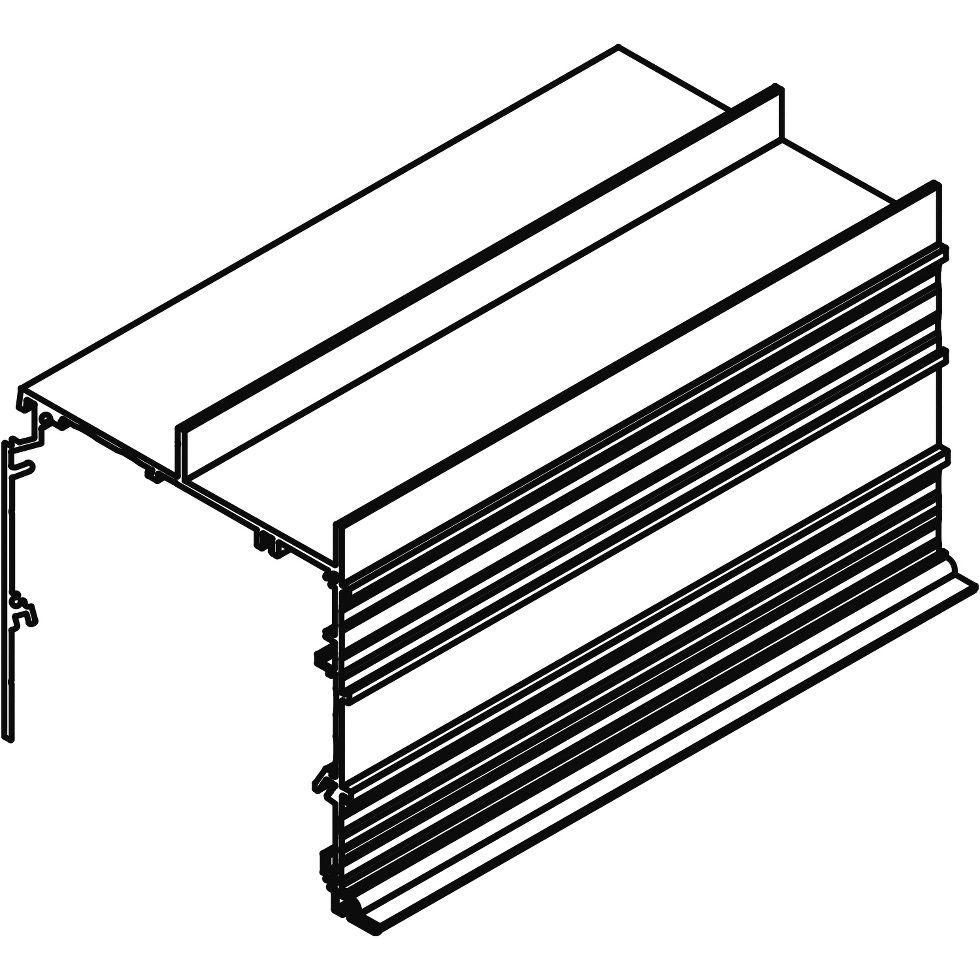AXIOM Building Perimeter Pockets for Lutron Shades
