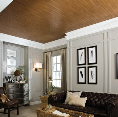 A Lesson In Textures Ceiling Design Gallery  Armstrong Ceilings Residential