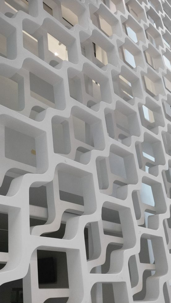 GRG Perforated Wall Panels