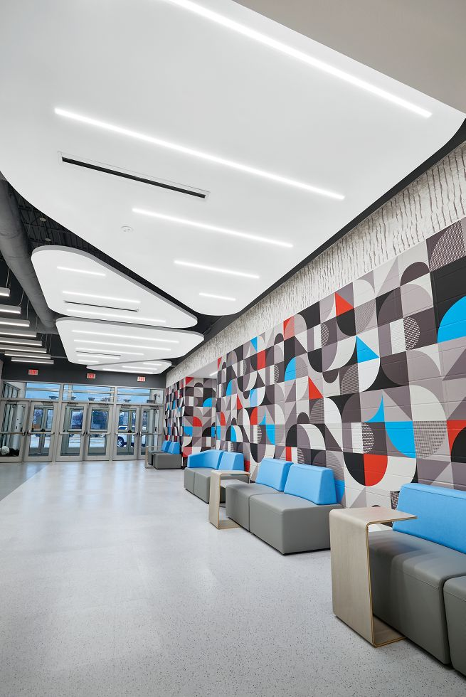 ACOUSTIBuilt Seamless Acoustical Ceiling System / AXIOM Classic Trim