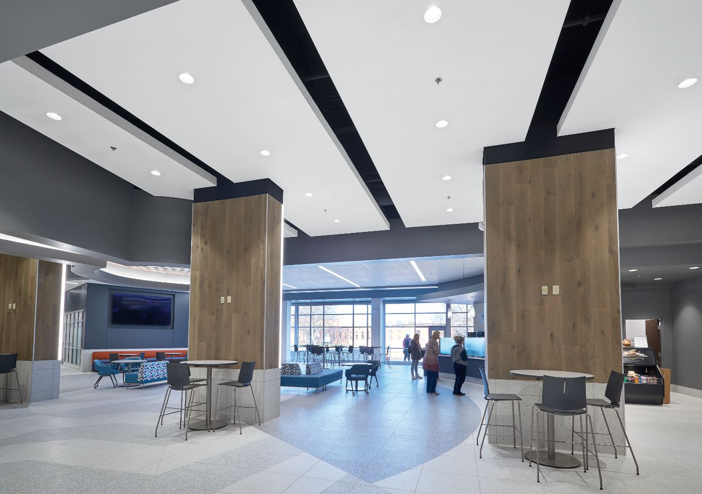 ACOUSTIBuilt Seamless Acoustical Ceiling System