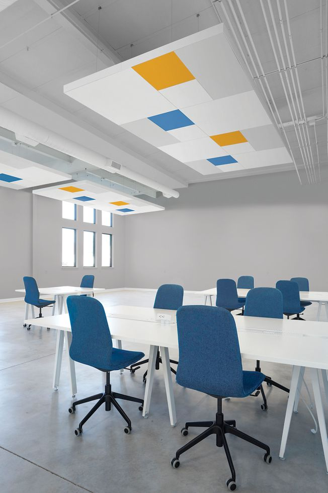 DESIGNFlex for FORMATIONS Acoustical Clouds rendering