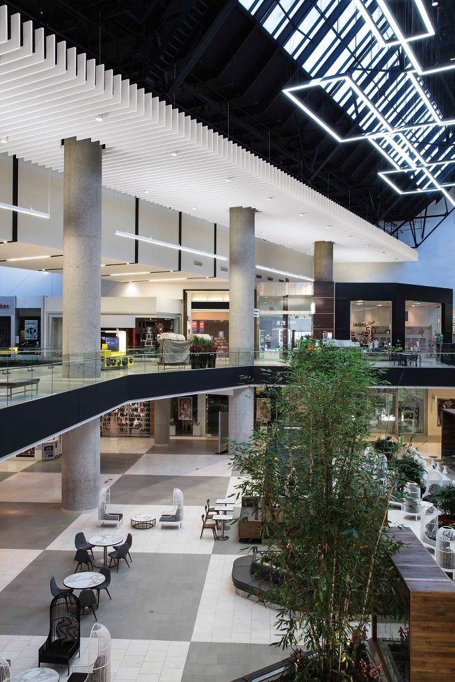Santa Anita Mall Armstrong Ceiling Solutions Commercial