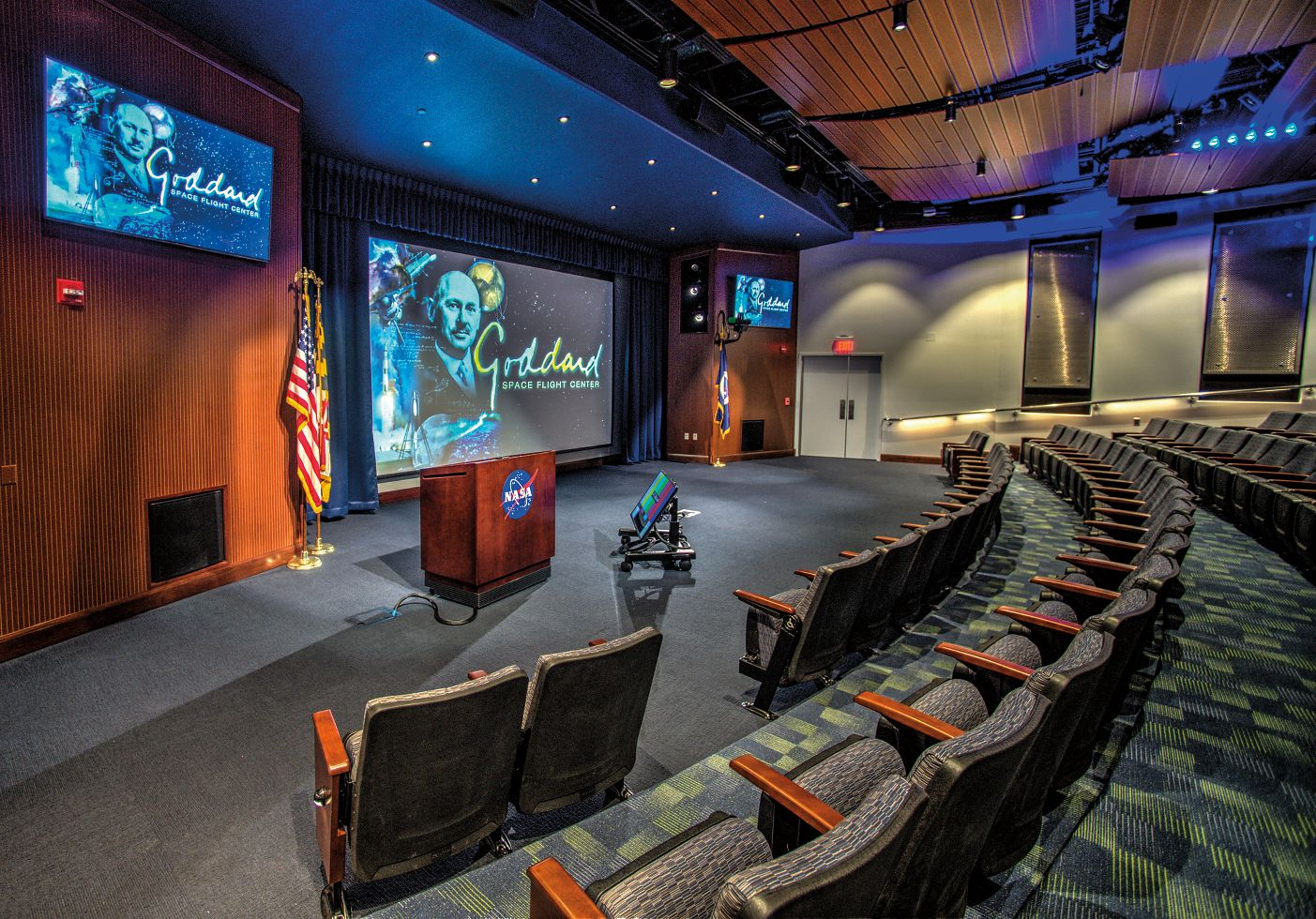 NASA Goddard Space Flight Center Goett Auditorium Greenbelt, MD