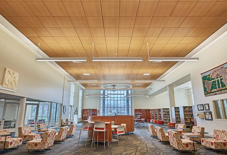 roland park school library armstrong ceiling solutions commercial